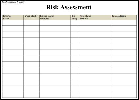 business continuity plan risk assessment template risk management worksheet abitlikethis