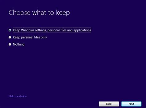 install windows 10 keep personal files and apps fix windows 10 creators update installation stuck