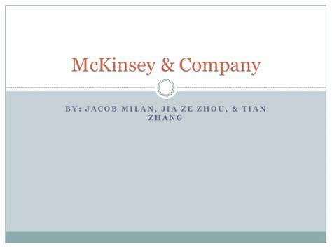 Mckinsey And Company Presentation Mckinsey Ppt Template