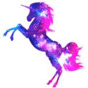 On Jumps Fantasi Pink unicorn galaxy space t shirt spreadshirt