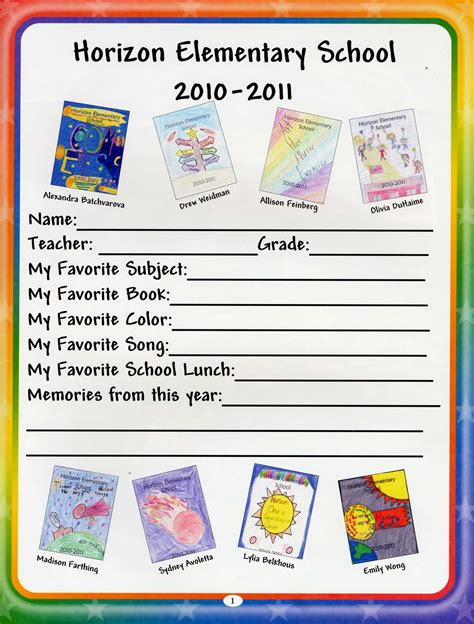 pages for elementary students elementary yearbook ideas on teaching yearbook
