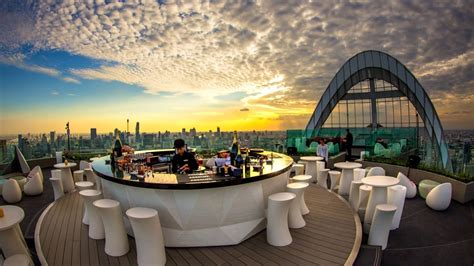 roof top bar bangkok cru rooftop bar at centralworld bangkok youtube