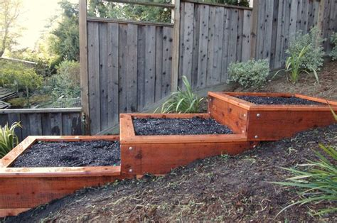 terraced raised garden beds google search backyard habitat pinterest gardens raised