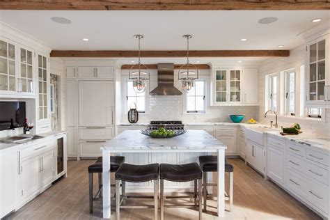 home wood kitchen design beams the olde mill