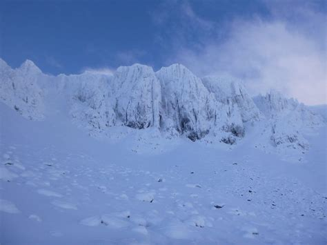 hairstyles guide for scnl so much snow dorsal arete glencoe west coast mountain