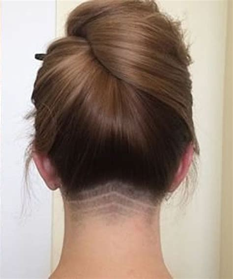 shaved side prom hairstyles new pretty neck undercut prom hairstyles 2016 prom