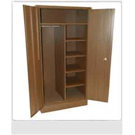 Pre Assembled Wardrobe Closets All Metal Closet Wardrobe Platinum Wardrobe Pl Dbl