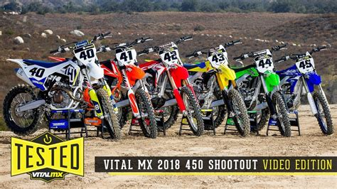 motocross 250f shootout 2018 vital mx 450 shootout