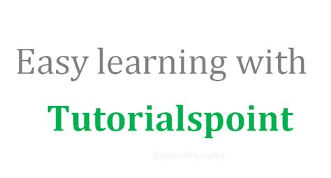 tutorialspoint vi editor explore and learn with tutorialspoint minshtech