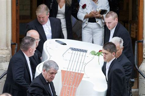 graham funeral rocker is buried in 12ft coffin