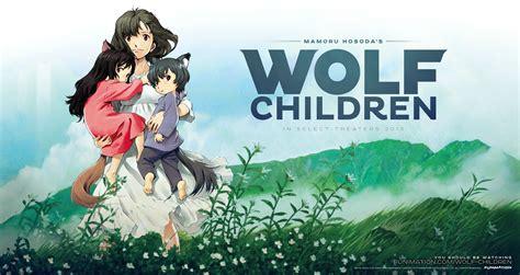 anime film wolves rese 241 a de ookami kodomo no ame to yuki el ba 250 l de las