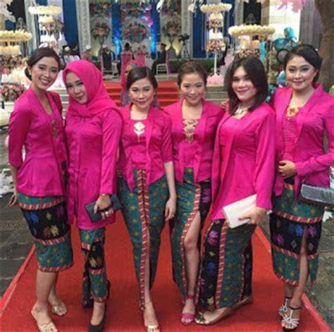 model baju seragam kebaya 10 contoh seragam kebaya untuk arisan inspirasi pernikahan