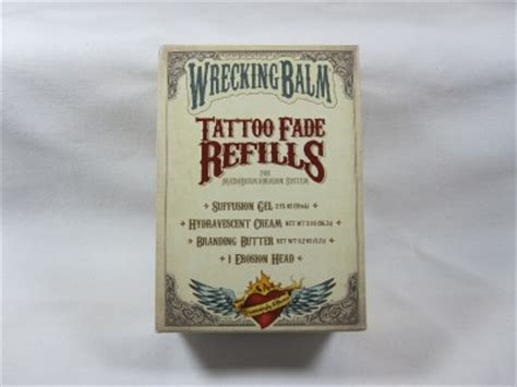 tattoo removal lotion wrecking balm new wrecking balm tattoo removal fade refills ebay