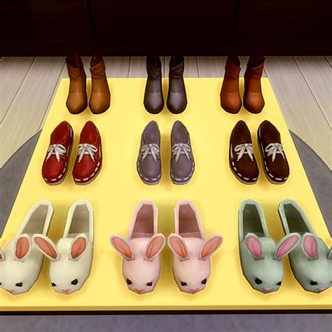 jsboutique hair 1 comes in all the default ea hair my sims 4 blog shoes for sale by jsboutique