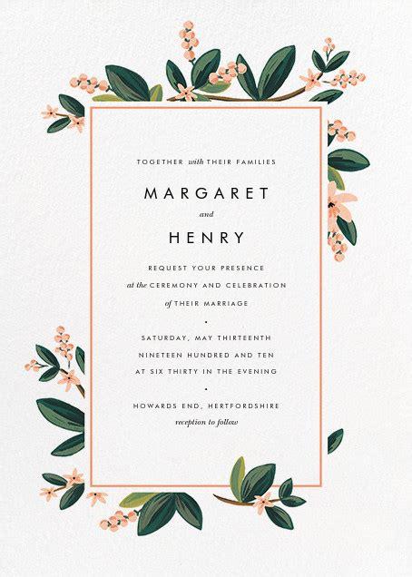 design free e invitations november herbarium invitation online at paperless post