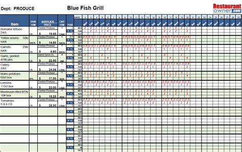 Kitchen Inventory Spreadsheet by Kitchen Inventory Spreadsheet Laobingkaisuo