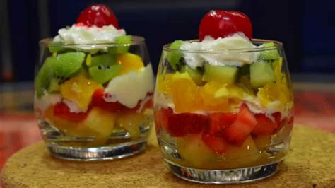 Salad Decoration At Home by Easy Steps Fruit Salad