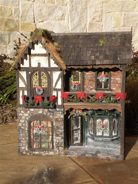 customized doll houses christmas carol custom dollhouse the child abides pinterest