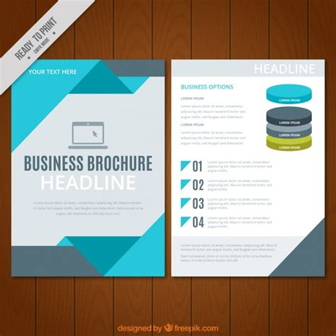 business flyer design vector free download business flyer template with geometric forms vector free