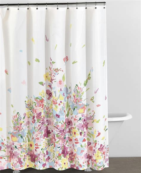 bed bath beyond shower curtains floral shower curtains bed bath and beyond home design ideas