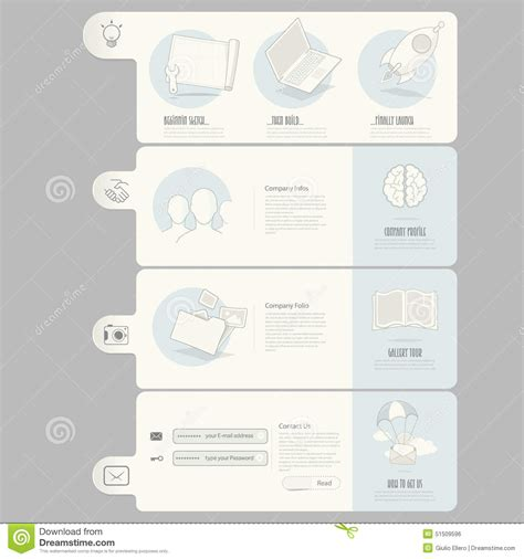 company portfolio template doc website templates elements for company portfolio stock
