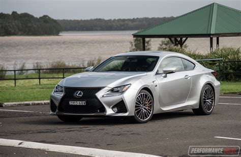 lexus rc f sport 2017 2017 lexus rc f review video performancedrive