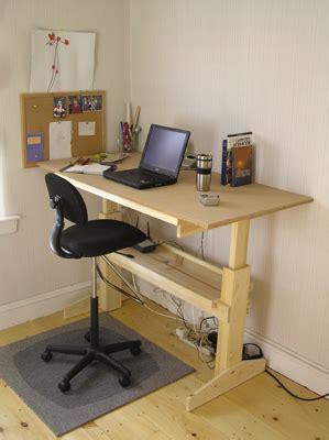 furniture how do i make a height adjustable desk home improvement stack exchange