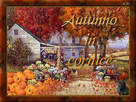cornice autunno autunno in cornice