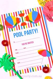 free printable summer pool invitation the creative