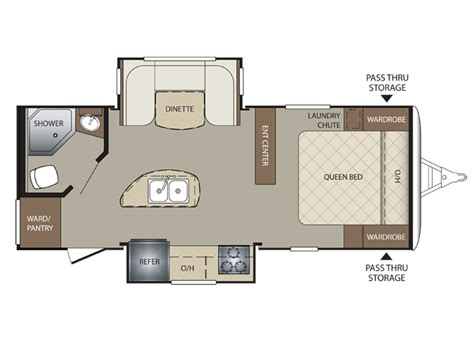 Keystone Trailers Floor Plans by 2015 Bullet 220rbi Floor Plan Travel Trailer Keystone Rv