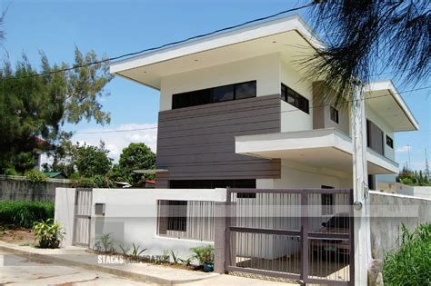 modern style house plans modern contemporary design house in laguna philippines