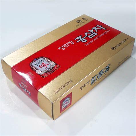 Korean Ginseng Tea new korean ginseng tea 3g x 100 cheong kwan jang