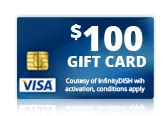 Infinity Dish Gift Card - dish network tv get 190 channels only 59 99 internet 14 95 infinity dish