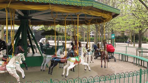 Backyard Carousel by A Stroll Through The Luxembourg Gardens Knife Fork In
