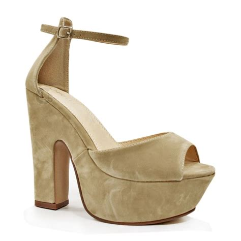 platform heels sandals womens demi wedge sandals peep toe platform ankle