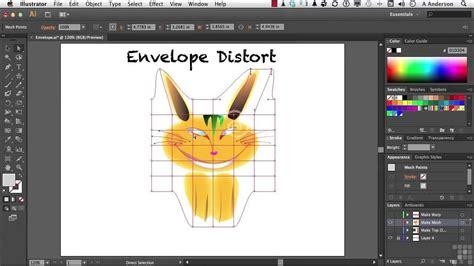 illustrator tutorial envelope distort gi 225 o tr 236 nh illustrator cs6 1404 understanding envelope