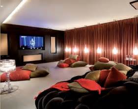 Home Theater Decorating Ideas by 15 Cool Home Theater Design Ideas Digsdigs