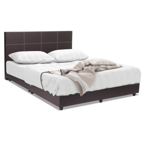 bed frame and mattress package bed frame brown foam mattress package