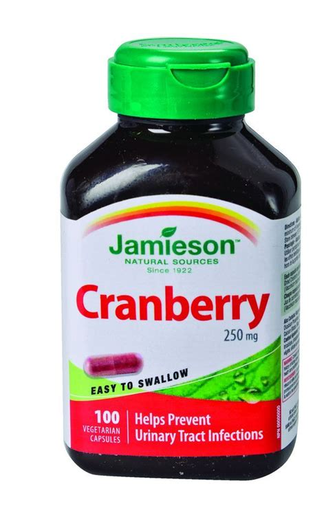 Suplemen Cranberry Buy Jamieson Vitamins Cranberry 250 Mg Vegetarian