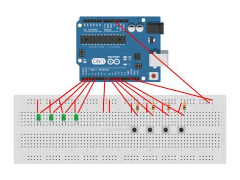 pcb layout game arduino simon says game autodesk circuits