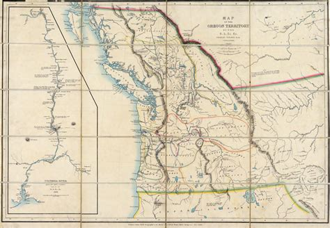 map of oregon territory file map of the oregon territory by the u s ex ex png