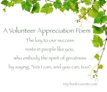 Brief Words Of Appreciation Volunteers On Volunteer Appreciation Thank You Gifts And Volunteer Gifts
