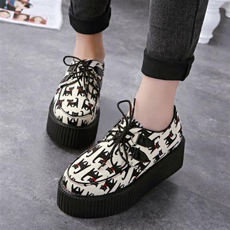 harajuku cat platform shoes 183 asian kawaii