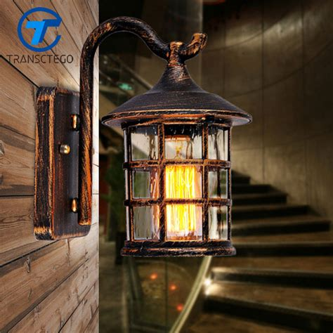 early american exterior lighting aliexpress com buy transctego country style outdoor wall