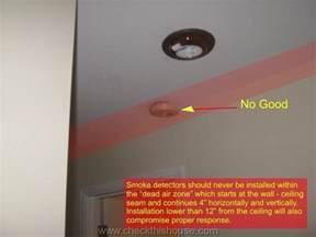 install smoke detector where to install smoke alarm detector at home