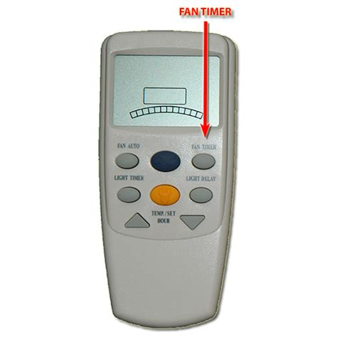 bay fan remote hton bay thermostatic lcd remote with fan timer