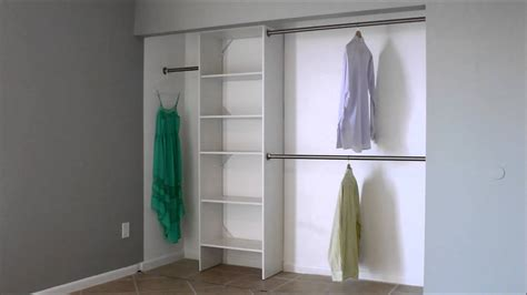 Clothes Pole For Wardrobe - what is the standard closet rod height