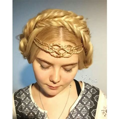 Celtic Hairstyles by Beautiful Celtic Braids The Haircut Web