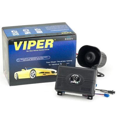 viper 330v oem upgrade 1 way alarm security system 427v