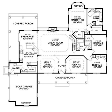 side porch house plans pin by michelle oshinski on future home pinterest